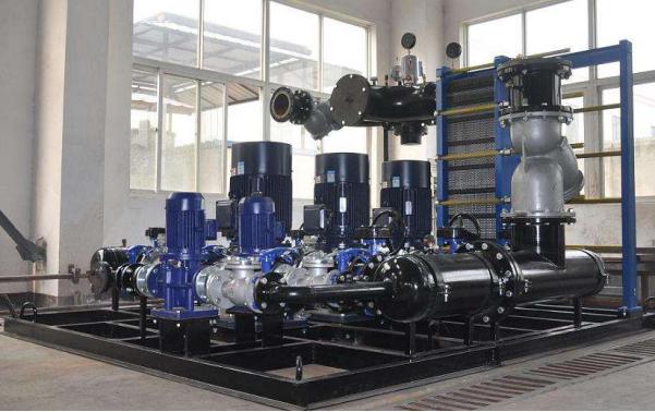煤矿企业离心式空气压缩机余热回收系统运行设计方案