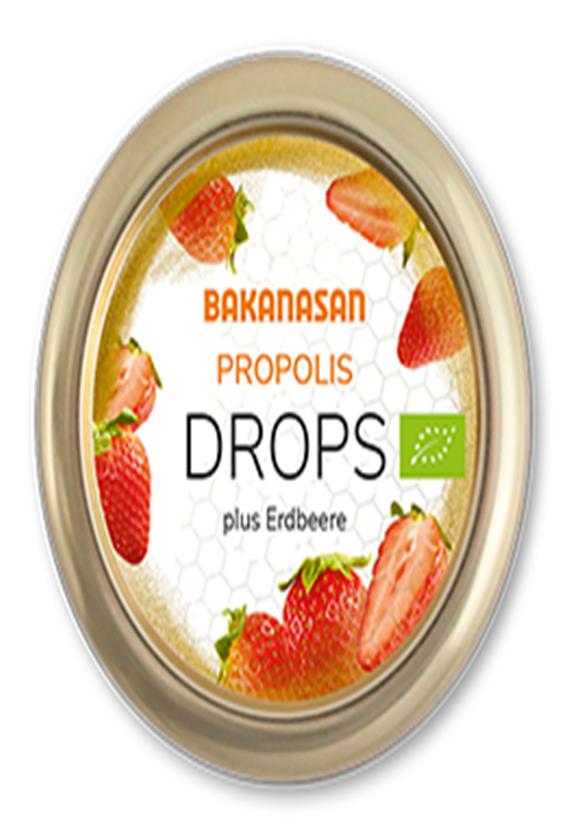 bakanasan蜂胶草莓软糖