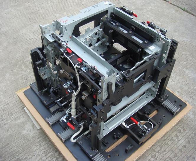 复印机本体激光焊接夹具