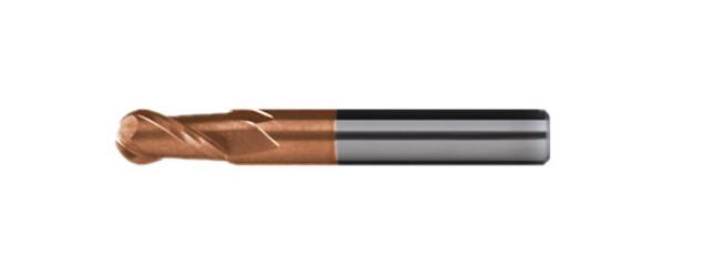 XE2 超硬球型立銑刀2刃