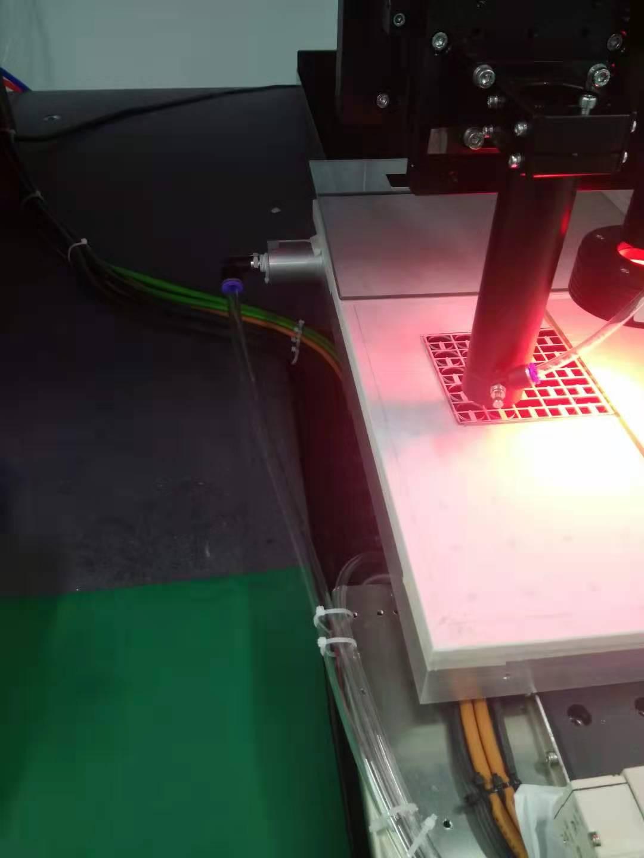 皮秒激光切割丝印玻璃加工,光学玻璃皮秒激光切割机