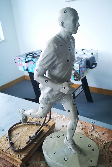 3D打印复制油泥雕塑,让灵感不易逝|杭州博型3D打印
