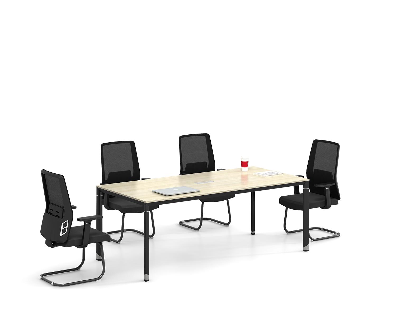 简约长条会议桌