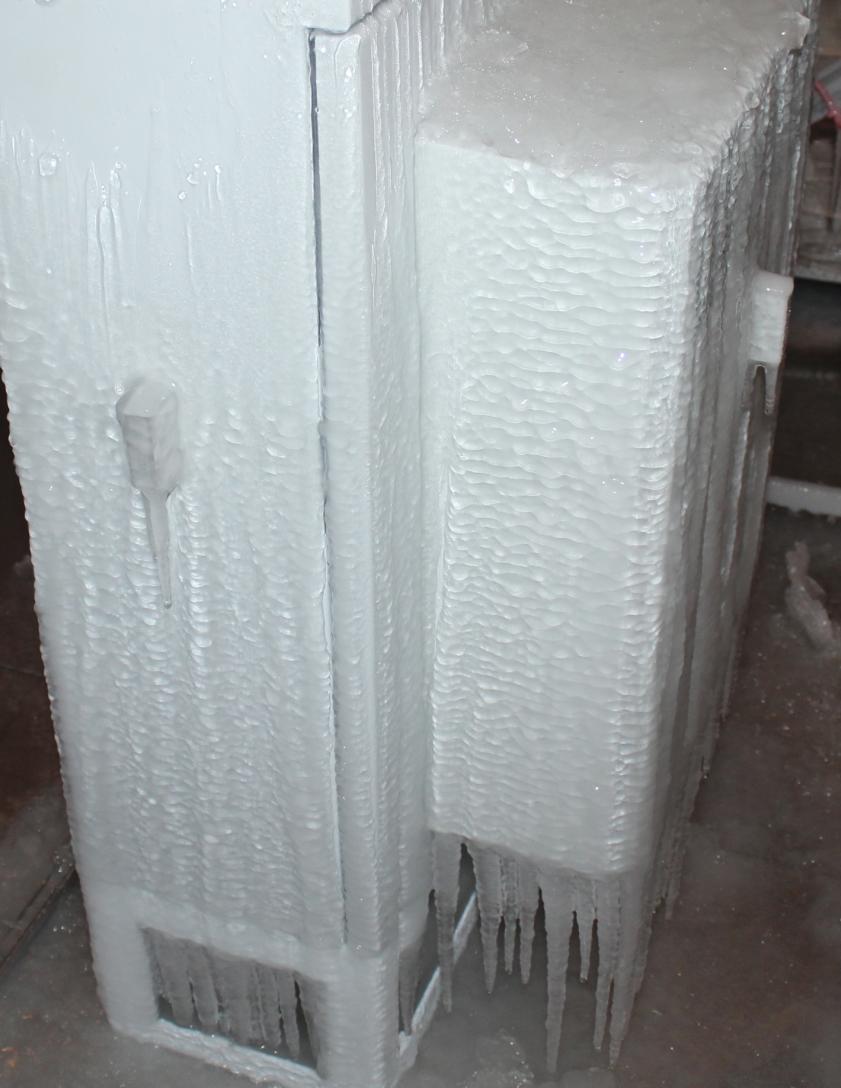 结冰冻雨实验