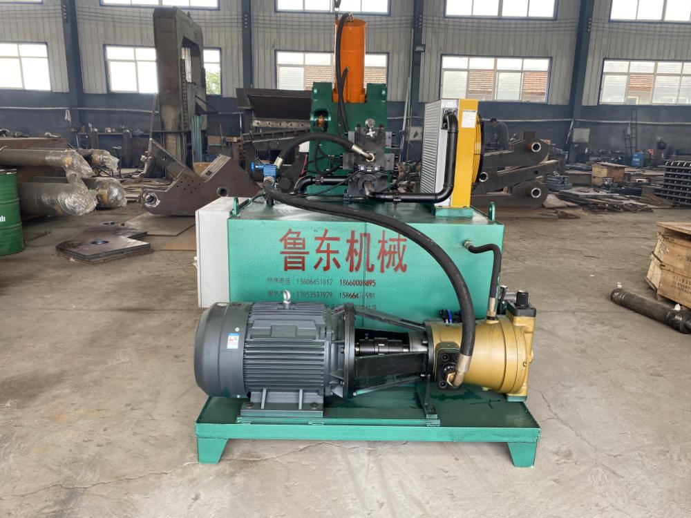 LD-450/1200快速型废钢剪切机(虎头剪)