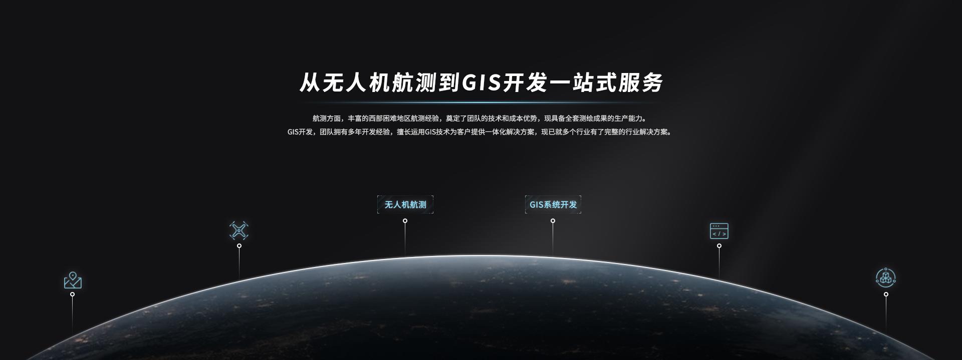 无人机航测到GIS开发一站式服务