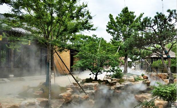 园林景区人工造雾系统案例