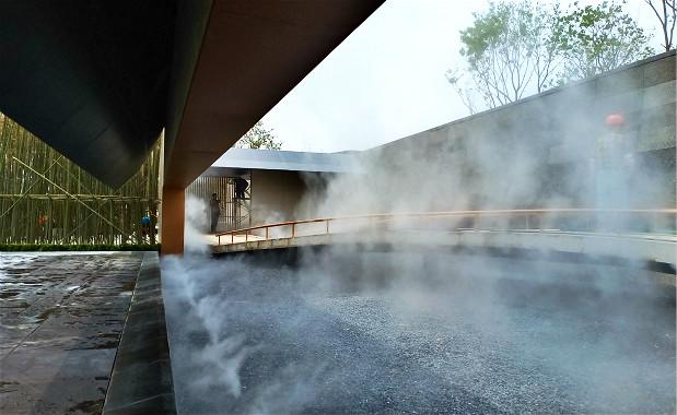 苏州园林绿化小区贝斯特全球最奢华网页雾森案例