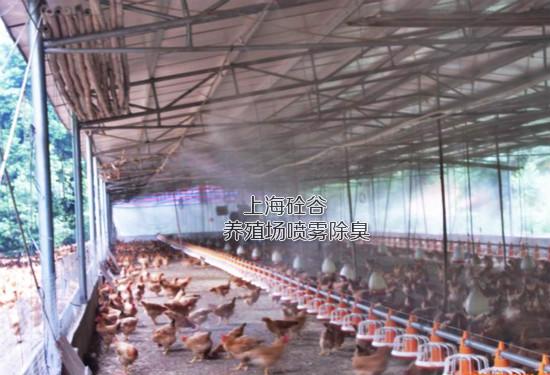 养殖场喷雾降温除臭