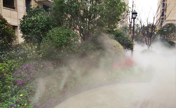 杭州雍和府小区园林贝斯特全球最奢华网页雾森案例