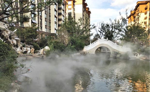 江苏连云港小区景观贝斯特全球最奢华网页雾案例