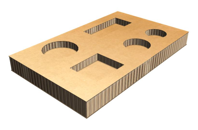 蜂窝纸板如何做好防震包装呢?