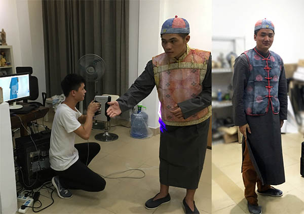 3D打印与扫描结合,创造惊人中国文化微缩场景|杭州博型3D打印