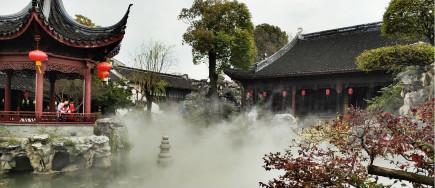 景观雾森造雾系统.打造游憩新环境