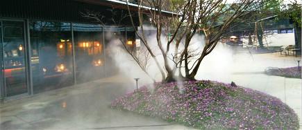 上海景观贝斯特全球最奢华网页雾系统厂家