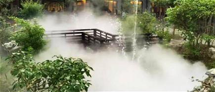 贝斯特全球最奢华网页雾森系统与水景园林景观的完美结合