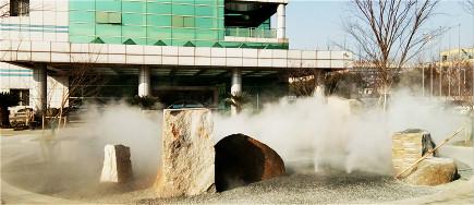 城市建设重视园林绿化,上海砼谷雾森系统为您打造健康惬意生活