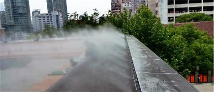 贝斯特全球最奢华网页降温系统不仅仅是降温,还能降尘,加湿,和造景