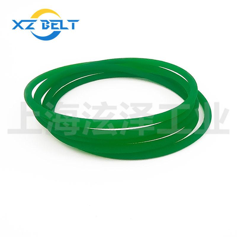 PU聚酯圆带绿色粗面