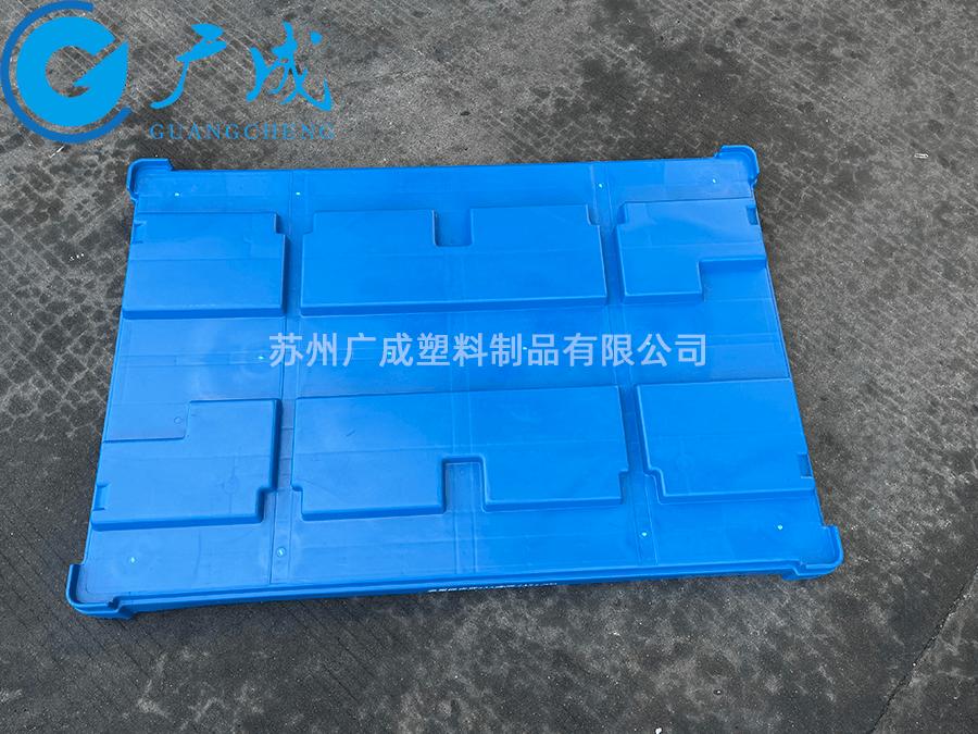 1208B川字塑料托盤蓋面部