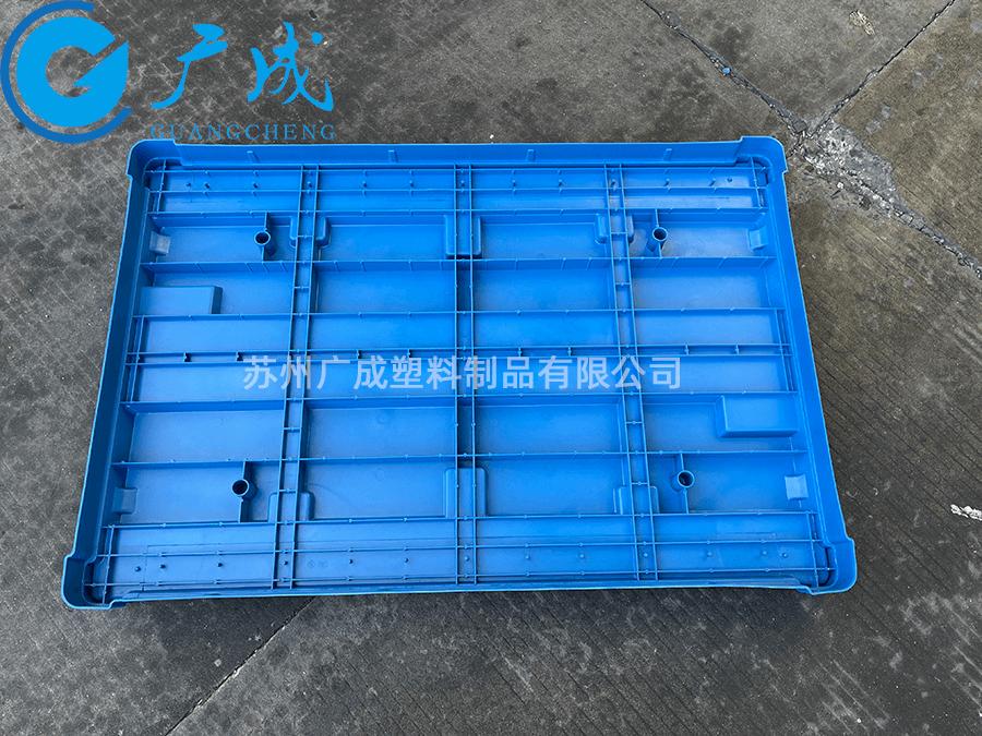 1208B川字塑料托盤蓋底部
