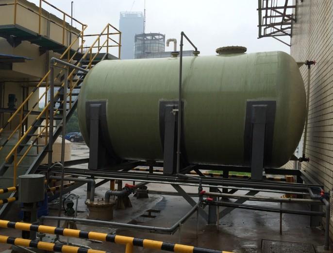脱硫管道的修复及特性