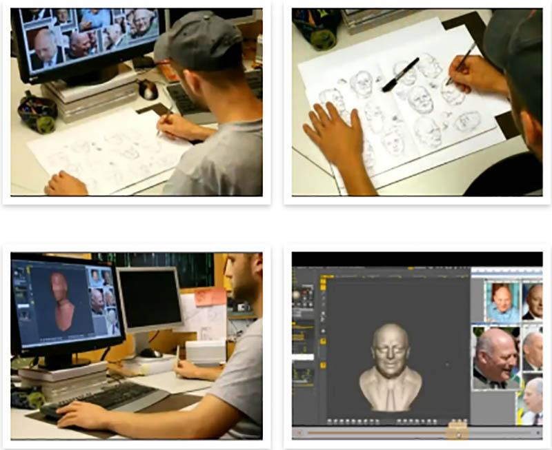 3D扫描打印技术对传统雕塑影响|杭州博型3D打印