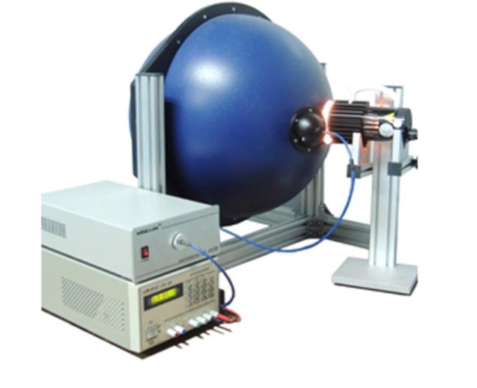 投光灯光电测量系统