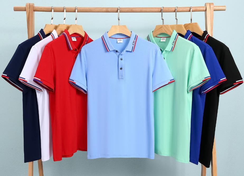 2021年新款POLO衫 企业polo衫定制透气吸汗POLO衫 印字绣字POLO衫