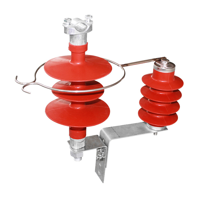 HY5CX户外高压氧化锌避雷器 复合式防雷器