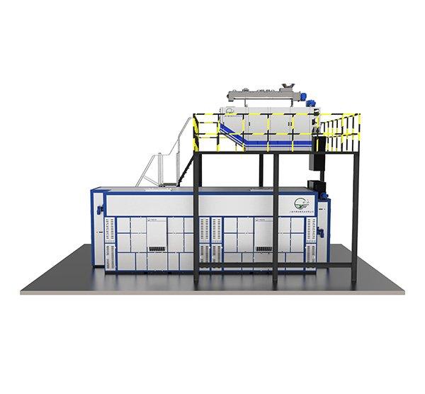 TJBH热泵型带式低温干化设备