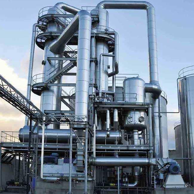 绿禾盛分享:多效连续蒸发结晶器的主要特点