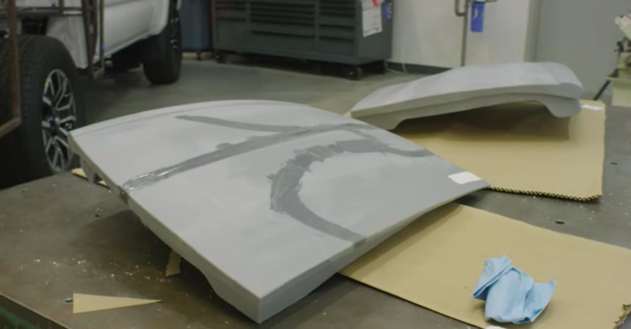先进行3D打印的车顶板.png