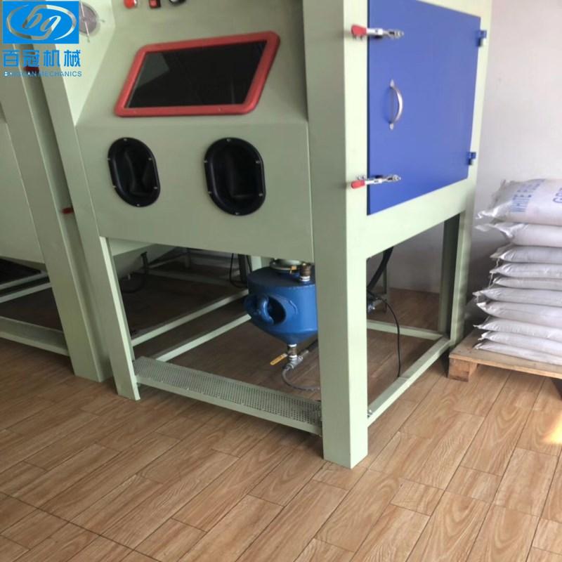 小型箱式喷砂机模具表面处理脉冲除尘器厂价直销