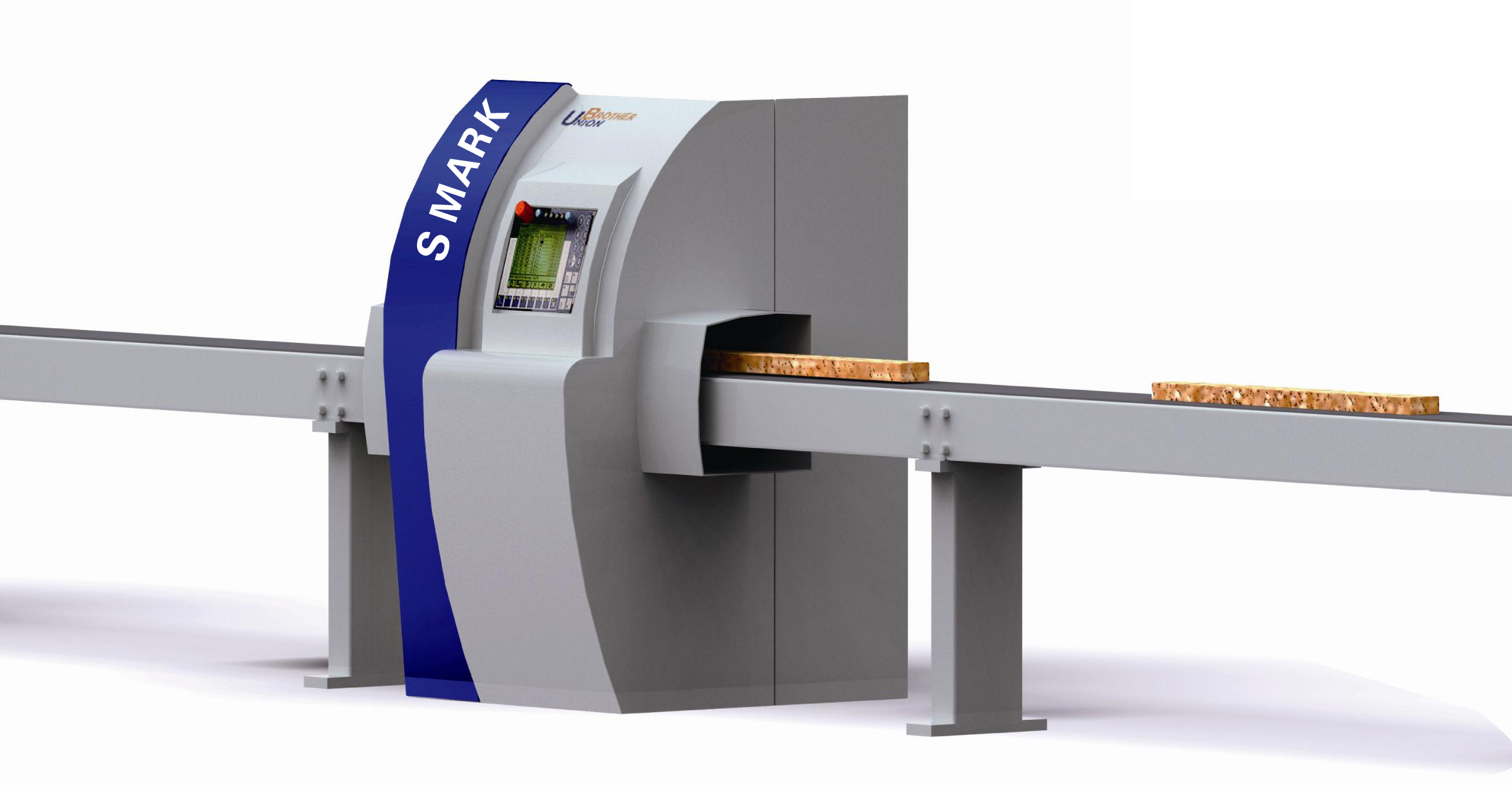全自動電腦木材測量優選標識系統SMARK O 60/90/120