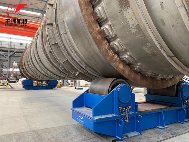 焊接滚轮架在结构上有哪些特征?
