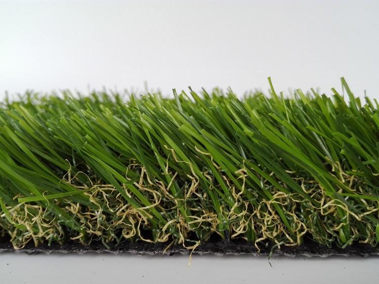 庭院直曲混织秋草系列草坪