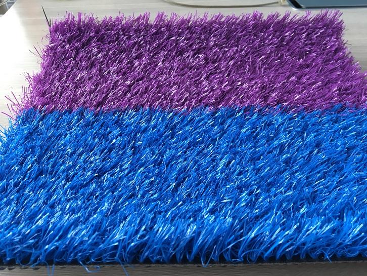 双色彩虹庭院装饰草坪