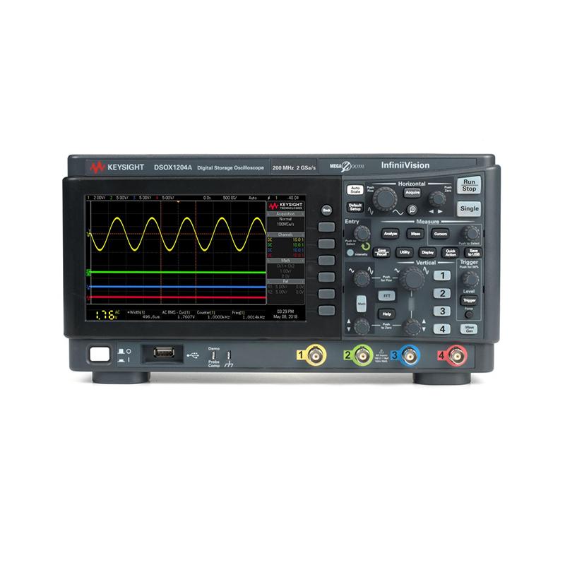 是德科技 DSOX1204A 示波器
