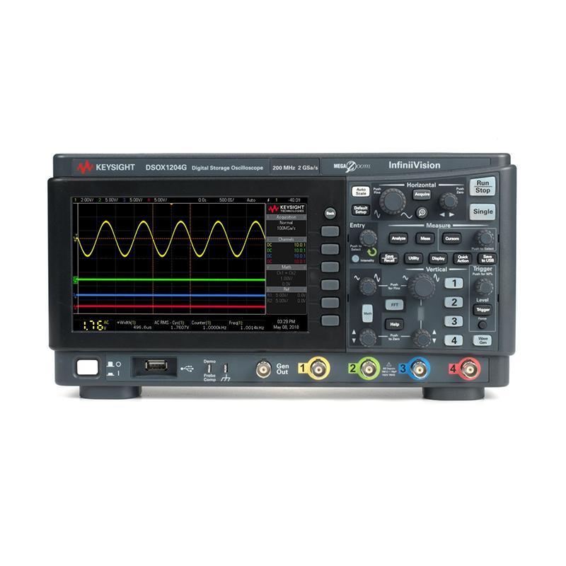 是德科技 DSOX1204G 示波器