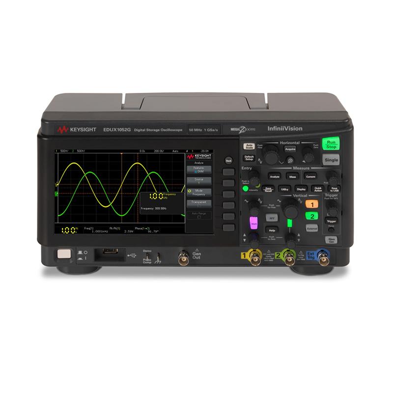 是德科技 EDUX1052G 示波器