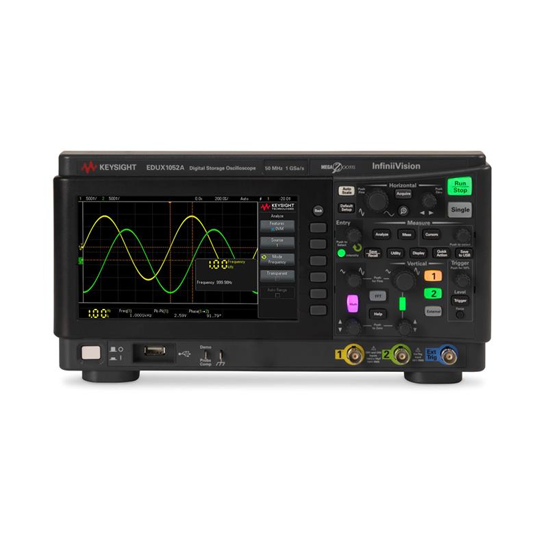 是德科技 EDUX1052A 示波器
