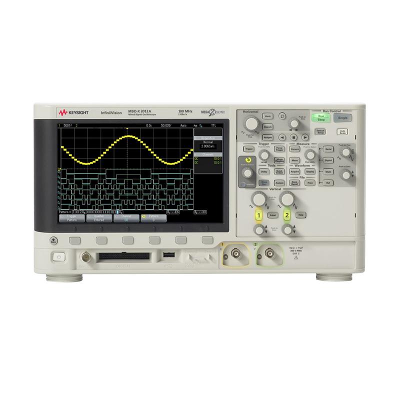 是德科技 MSOX2012A 混合信号示波器