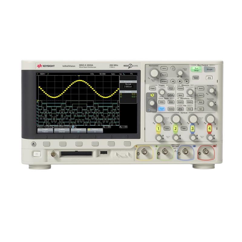 是德科技 MSOX2014A 混合信号示波器