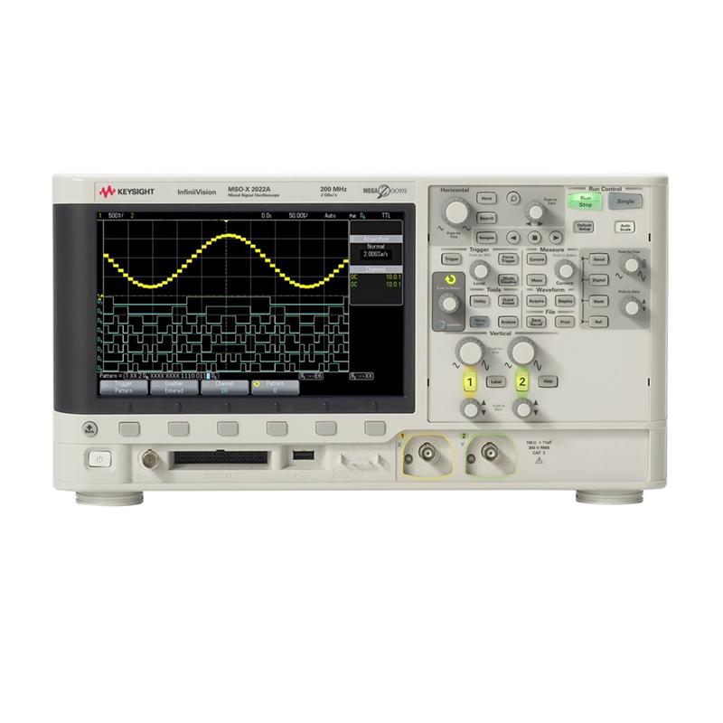 是德科技 MSOX2022A 混合信号示波器
