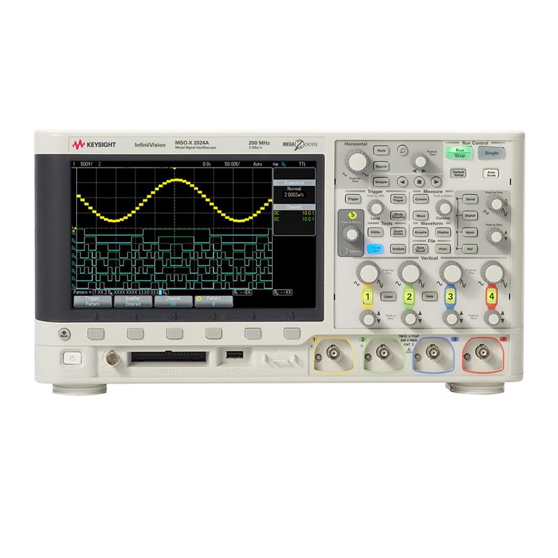 是德科技 MSOX2024A 混合信号示波器