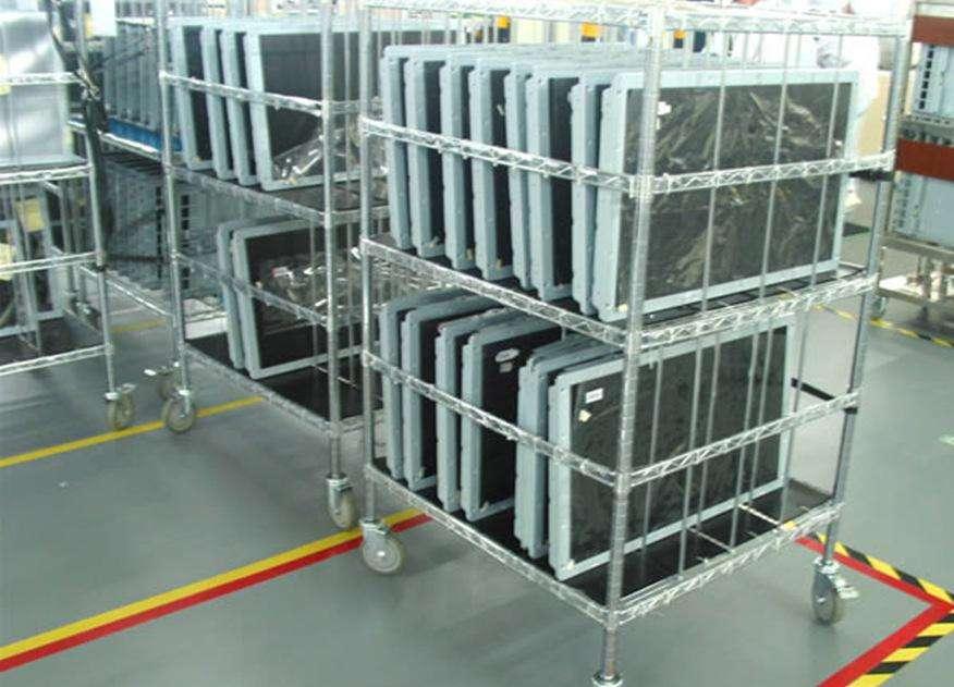 防静电货架回收