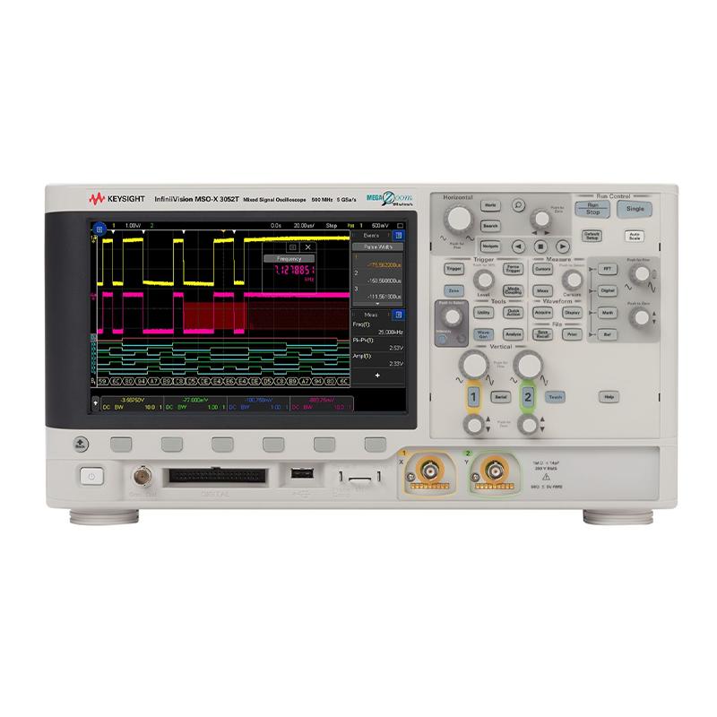是德科技 MSOX3052T 混合信号示波器