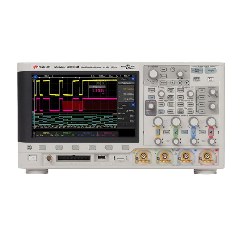 是德科技 MSOX3054T 混合信号示波器