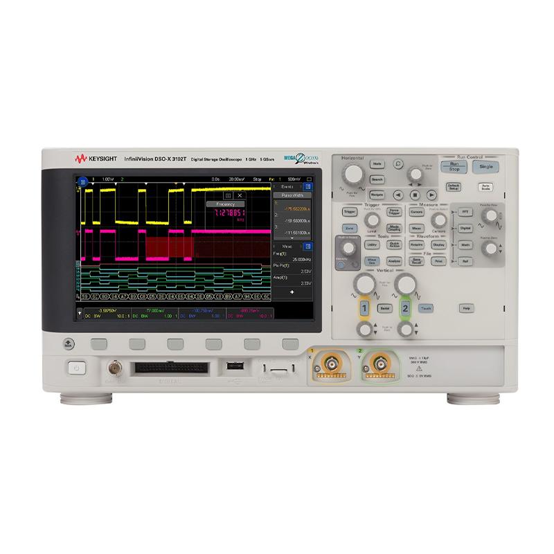 是德科技 DSOX3102T 示波器